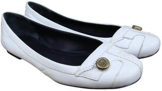 Givenchy White Leather Ballet flats