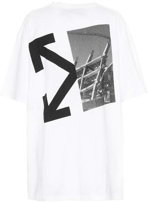 Off-White Off White Splitted Arrow cotton T-shirt