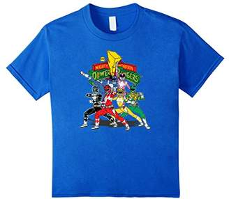 Power Rangers Vintage Mighty Morphin Time T-Shirt