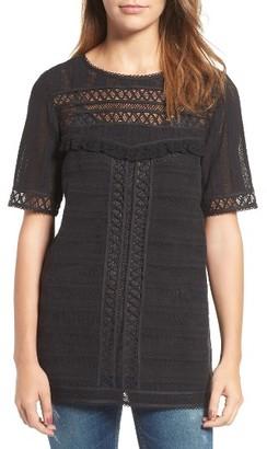 Women's Hinge Crochet Tunic $79 thestylecure.com