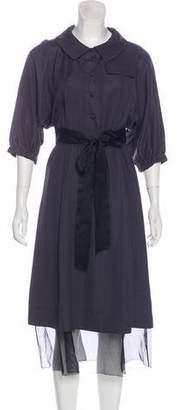 Marc Jacobs Button Up Midi Dress