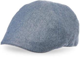 Weatherproof Vintage Ivy Solid Cotton Newsboy Cap