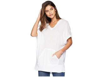 LAmade S/S Lounge Hoodie Women's Short Sleeve Pullover