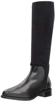 Aquatalia Women's Nicolette Calf/Elastic Knee High Boot
