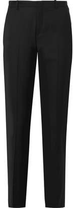 Joseph Kong Super 100 Wool Tapered Pants - Black