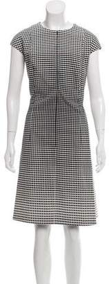 Akris Punto Sleeveless Midi Dress
