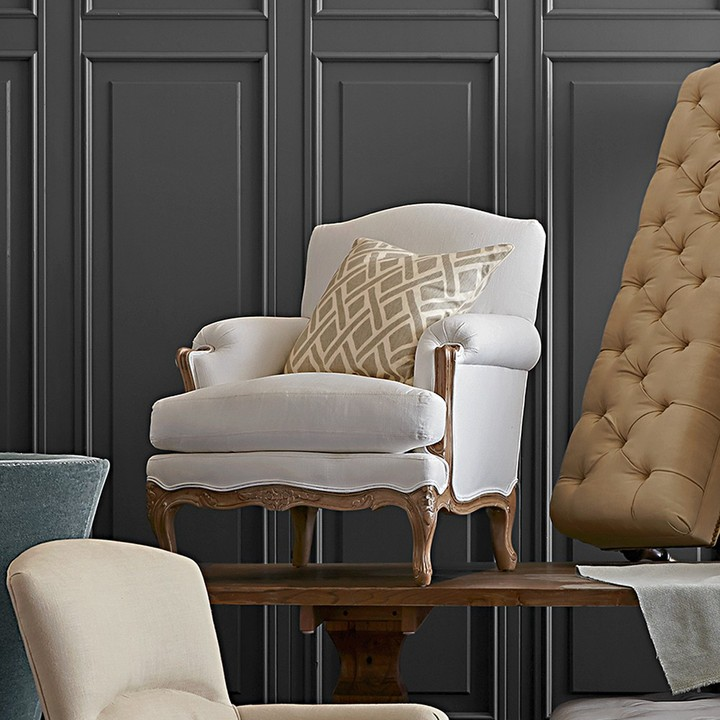 Williams-Sonoma Gray French Chair
