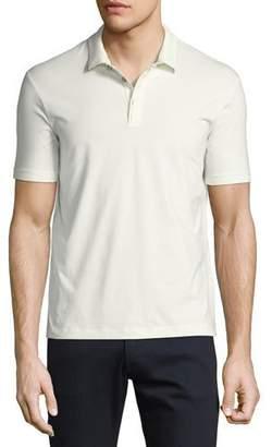 Armani Collezioni Supima® Cotton Polo Shirt, White