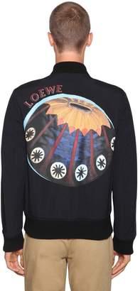 Loewe Urchins Nylon Bomber Jacket
