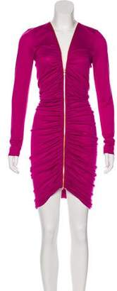 Emilio Pucci Ruched Bodycon Dress