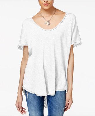 Project Social T Harvey Cotton High-Low T-Shirt