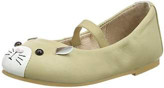 Bloch Girls' Hamster Ballet Flats,8.5 Child UK