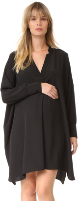 HATCH The Yves Tunic Dress $258 thestylecure.com