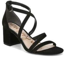 Sam Edelman Stacie Strappy Block-Heel Sandals