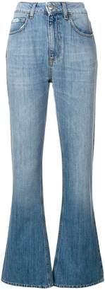 ALEXACHUNG Alexa Chung Shirley wash flared jeans