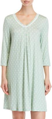 Company Ellen Tracy Three-Quarter Sleeve Nightgown