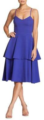 Dress the Population Yasmin Tiered Day Dress