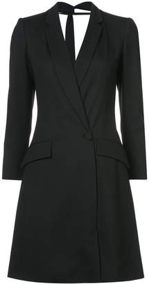 Carolina Herrera open-back blazer dress