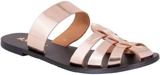 NOMAD Leather Slide Sandals - Perth