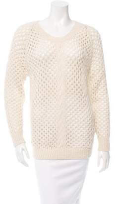 Isabel Marant Alpaca Perforated Sweater