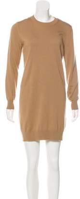 Burberry Merino Wool Mini Dress