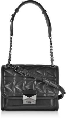 Karl Lagerfeld Paris K/kuilted Mini Leather Shoulder Bag
