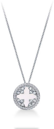 Treasure Empress 18ct White Gold and 0.25cttw Diamond Pendant