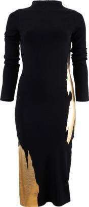 OSCAR DE LA RENTA Compact Knit Dress