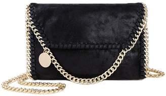 NIGEDU Women Chain Bag Fashion PU Leather Crossbody Bag Shoulder Bags Ladies Clutch Handbag