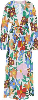 Mara Hoffman Luna Floral-Print Maxi Dress