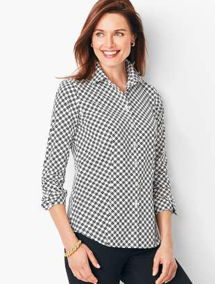 47b6a867043bf3 Talbots Women s Button Front Tops - ShopStyle