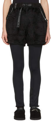 and Wander Black Dry Jersey Leggings