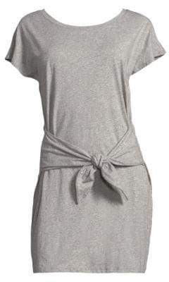 Joie Alyra Tie Waist Tee Dress
