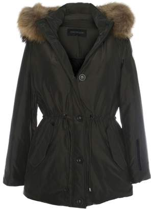 Oakwood Alpine Khaki Fur Trim Hooded Parka