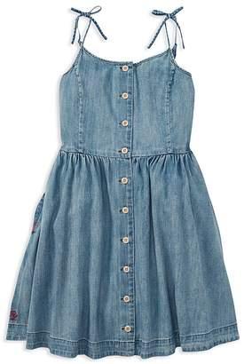 Polo Ralph Lauren Girls' Denim Dress - Big Kid