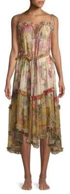 Zimmermann Melody Floating Silk Dress
