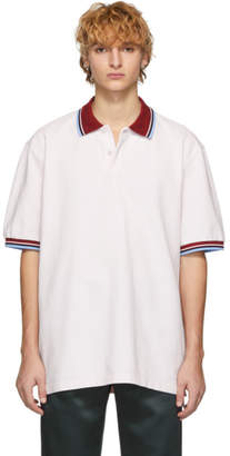Marni Pink Cotton Polo