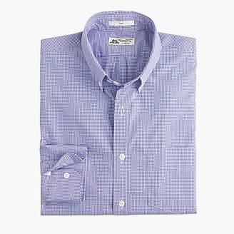 J.Crew Thomas Mason® for Ludlow Slim-fit shirt in baltic mini-gingham