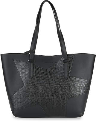 KENDALL + KYLIE Kendall+Kylie Classic Star Leather Tote