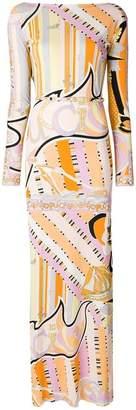 Emilio Pucci signature printed dress