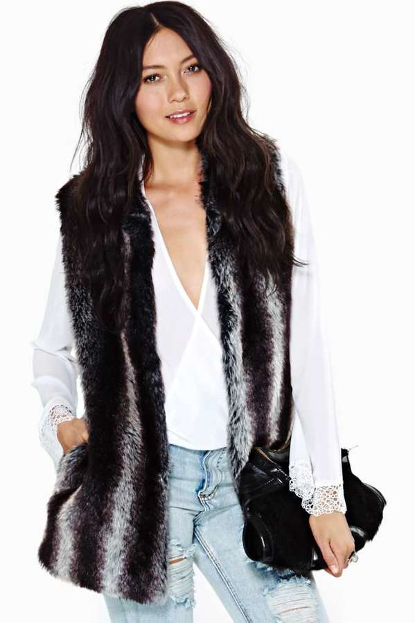 Kiki Faux Fur Vest