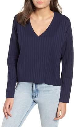 BP Wide Rib Crop Sweater (Regular & Plus Size)