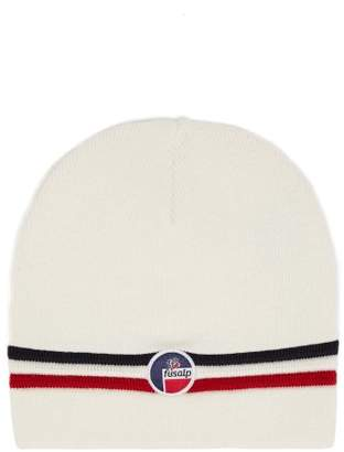 Fusalp - Bonnet Wengen Wool Beanie Hat - Mens - White