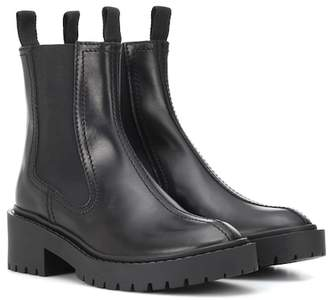 Kenzo Leather Chelsea boots