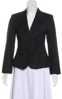 Giorgio Armani Wool Striped Blazer