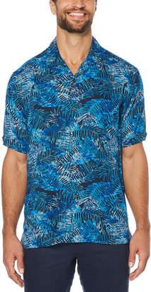 Cubavera Leaf Print Shirt