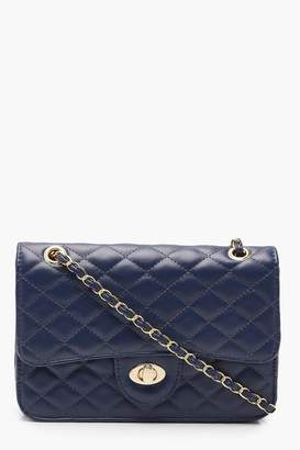 boohoo Square Quilted Cross Body