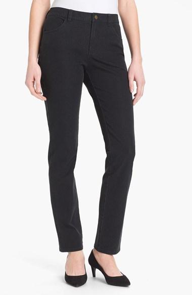 Lafayette 148 New York Slim Leg Curvy Stretch Jeans