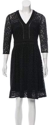 Cynthia Steffe Lace Knee-Length Dress w/ Tags