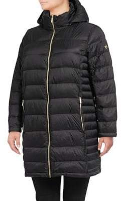 MICHAEL Michael Kors THE COAT EDIT Long Packable Puffer Coat